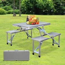fold out picnic table 31 alluring picnic table ideas