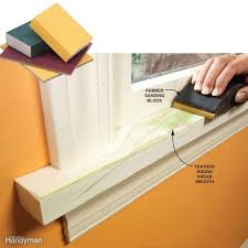 Sanding Walls Before Painting Trim Painting Tips For Smooth And Perfect Results Family Handyman