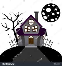 haunted mansion clipart vector cartoon funny haunted house on stock vector 158767139