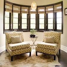 Fabric Chairs Design Ideas Brown And White Bamboo Upholstered Chairs Design Ideas