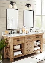 rustic modern farmhouse bath tour best 25 rustic bathroom vanities ideas on bathroom