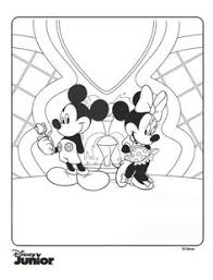 mickey mouse clubhouse coloring pages 8 birthdays