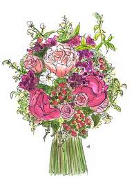 wedding flowers drawing 51 best wedding flowers images on marriage bridal