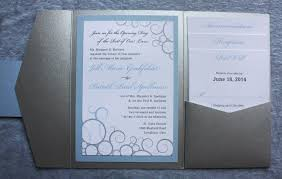 baseball wedding invitations light blue gray silver baseball swirl pocketfolds emdotzee