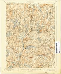 Washington New York Map by