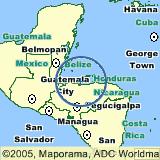 america map honduras maps of utila the bay islands honduras