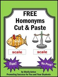 52 best homonyms images on pinterest homonyms activities word