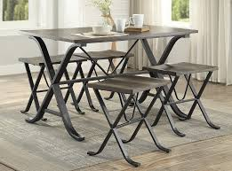 industrial style pub table industrial style pub table 5 piece set