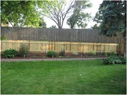 Backyard Feature Wall Ideas Backyards Mesmerizing Privacy Fence Ideas For Backyard Photo 2