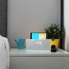 best light up alarm clock best wake up light alarm clock for refreshed and motivated routines