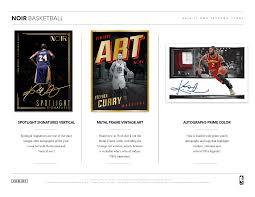 2016 17 panini noir nba basketball cards returns with new