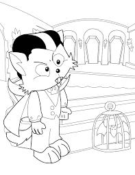 Fall Halloween Coloring Pages by Halloween Coloring Book Pages Dracula Coloring Pages Trick Or