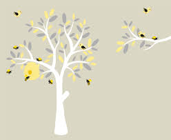 Removable Wall Decals For Nursery by Nursery Decals Wall Decals Vinyl Tree Modern Decals