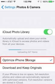 How To Optimize Photos On Iphone How To Use Icloud Photo Library In Photos To Sync Pictures Between