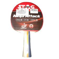 quality table tennis bats stag ninja attack table tennis racquet buy stag ninja attack table