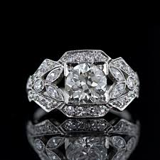 gem art rings images Art deco era jewelry aju jpg