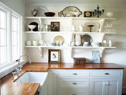 kitchen shelving ideas 55 open kitchen shelving ideas with closed cabinets