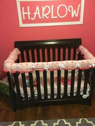 wonder bumpers zip around each crib slat cool way to get the