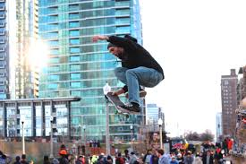 grant park skate park a hit on opening day downtown chicago