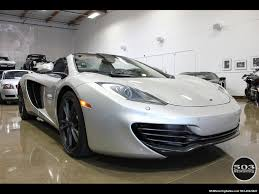 custom mclaren mp4 12c 2014 mclaren mp4 12c spider silver black w 333k msrp