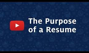 What Is The Purpose Of A Resume Stunning The Purpose Of A Resume Pictures Simple Resume Office