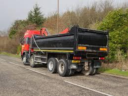 volvo 870 truck 32 tonne volvo fm 380 tipper grab with palfinger epsilon crane