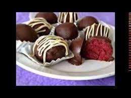 red velvet cake balls recipe youtube