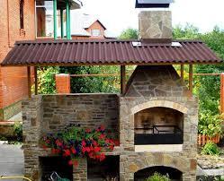 cuisine d ete barbecue design exterieur barbecue naturelle faire soi même cuisine