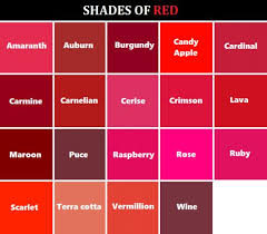 shades of red list 161 best colors drawing images on pinterest color combinations