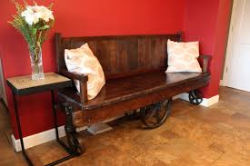 factory cart bench wunderwoods