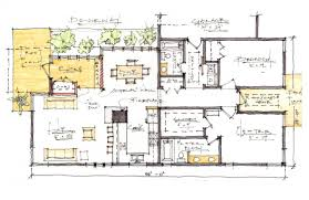 house plans modern craftsman style