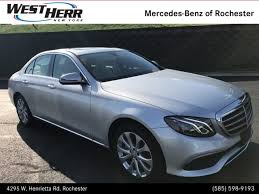 rochester mercedes used 2017 mercedes e class for sale rochester ny