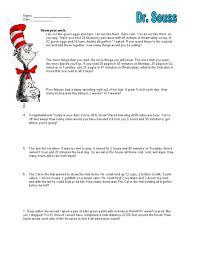 dr seuss mixed math word problems 3rd 4th grade worksheet