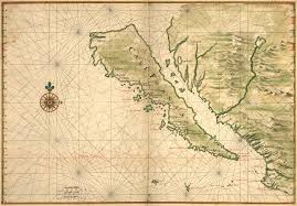 Map Of Baja Mexico by Vingboons U0027 Map Of California As An Island 1650s