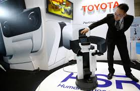 international toyota toyota harbors big ambitions for u0027partner robot u0027 business the