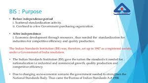 bureau standard bureau of indian standards