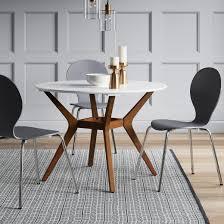 Circular Dining Room Tables - emmond mid century 42