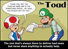 Funny Character Memes - the 6 nintendo characters who work in every office collegehumor post