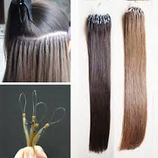 micro ring extensions 1g or 0 5g easy micro ring loop human hair extensions