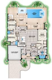 contemporary floor plan contemporary style house plan 3 beds 3 baths 2684 sq ft plan 27
