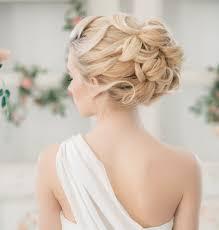 Hochsteckfrisurenen Hochzeit Romantisch by üppige Hochsteckfrisur Mit Zöpfchen Brautmode 2014 Weddingday