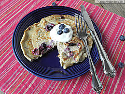 Protein Pancakes With Cottage Cheese by Healthy Blueberry Oat Pancakes No Sugar Added