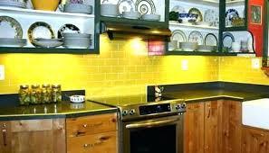 backsplash for yellow kitchen kitchen backsplash yellow walls pizzle me