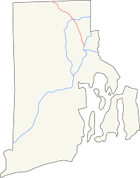 Ri Map Rhode Island Route 146 Wikipedia