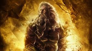 god of war ascension zeus wallpaper by xkirbz deviantart com on