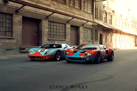 reunited a pair of australian ford gt40s stance works ford