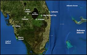 Lake City Florida Map by The Native American History Of Florida U0027s Lake Okeechobee Basin