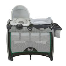 portable diaper changing table graco pack n play playard with quick connect portable napper