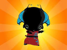 cute alien character vector art u0026 graphics freevector com