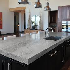 Kitchen Cabinets With Feet Sensa Silver Silk Granite With Dark Cabinets 64 Square Foot At